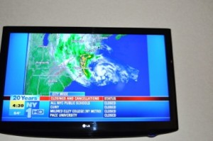 Sandy ob prihodu že prihaja nad NY